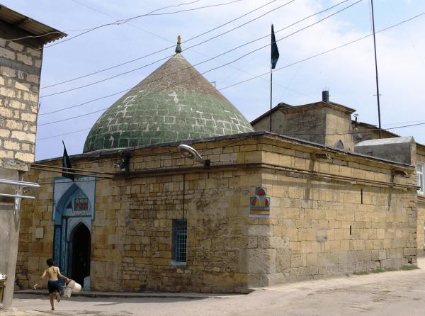 Мечеть Кырхляр в Дербенте