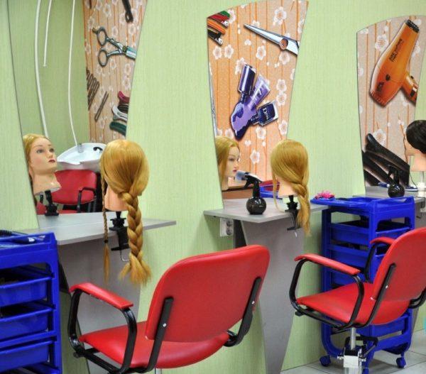 Парикмахерская в детском центре «СуперКид»