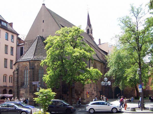 Церковь Святой Клары в Нюрнберге