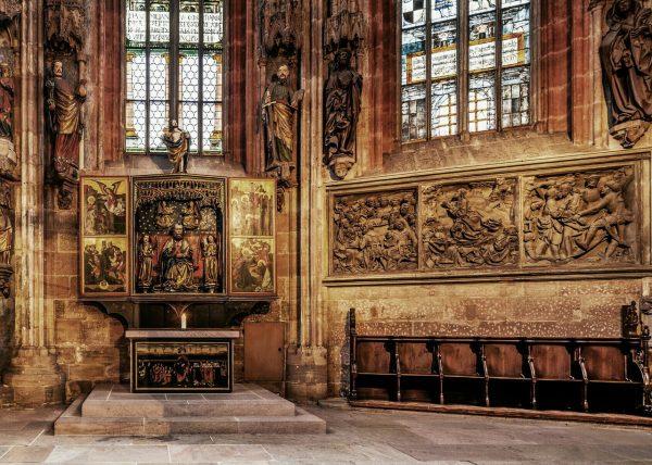 Алтарь церкви Святого Себальда