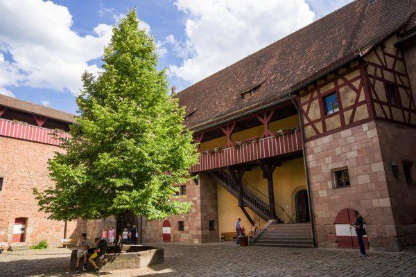 Замок Кайзербург в Нюрнберге