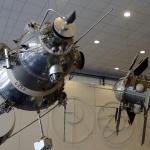 В залах музея истории космонавтики имени К. Э. Циолковского в Калуге
