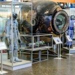 Зал музея истории космонавтики имени К. Э. Циолковского в Калуге