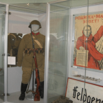 В залах военной тематики Калужского областного краеведческого музея