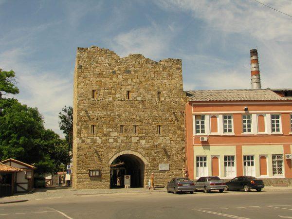 Ворота Дровяного базара, Евпатория