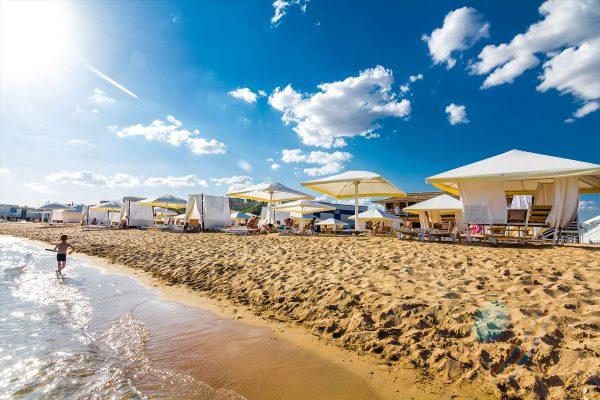 Пляж Лазурный берег, Евпатория