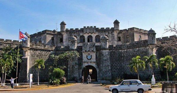 Вход в крепость Ла-Реаль-Фуэрса (Гавана)