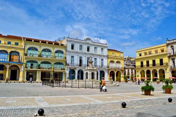 Пласа-де-Армас в Гаване