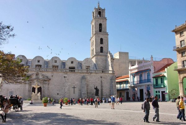 Здание монастыря и церкви Святого Франциска в Гаване
