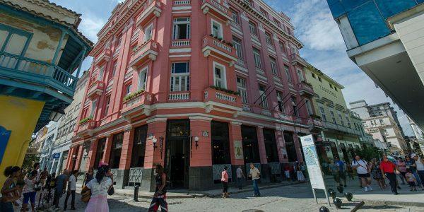 Отель Ambos Mundos в Гаване