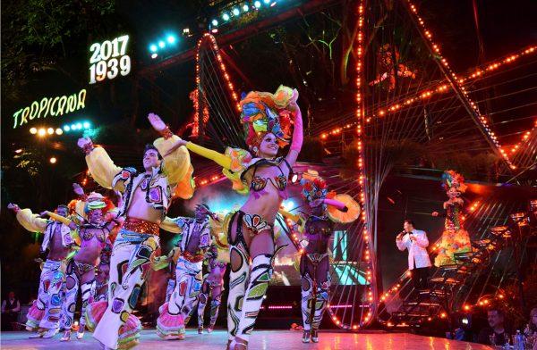 Шоу в кабаре «Тропикана» (Гавана)