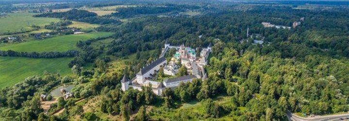 Савино-Сторожевский монастырь с высоты птичьего полёта