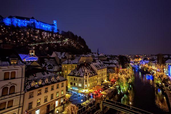 Рождественская Любляна
