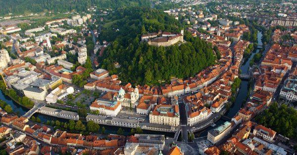 Панорама центра Любляны