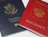 Паспорта России и США