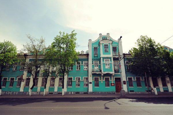 Дом купца Серебренникова в Орле