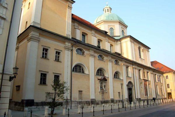 Епископский дворец в Любляне