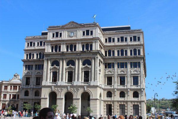 Здание товарной биржи в Гаване
