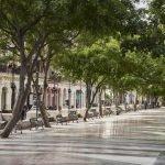 Бульвар Пасео-дель-Прадо в Гаване