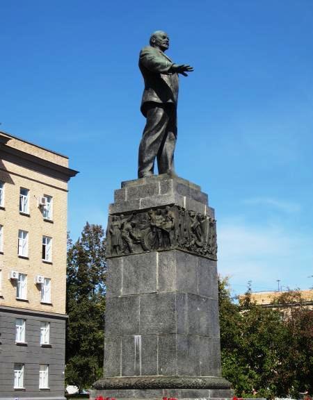 Памятник Ленину в Орле
