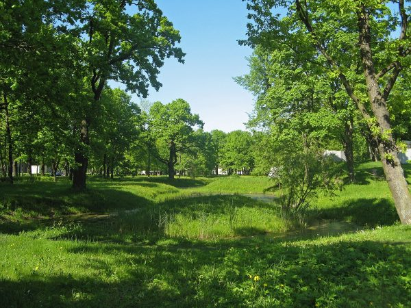 Семинарский парк в Орле
