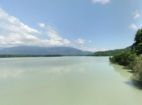 Гальское море в Абхазии