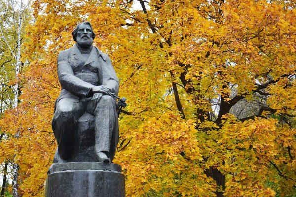 Памятник Тургеневу И. С. в Орле