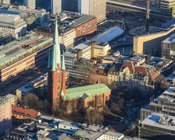 Церковь Святой Клары в Стокгольме