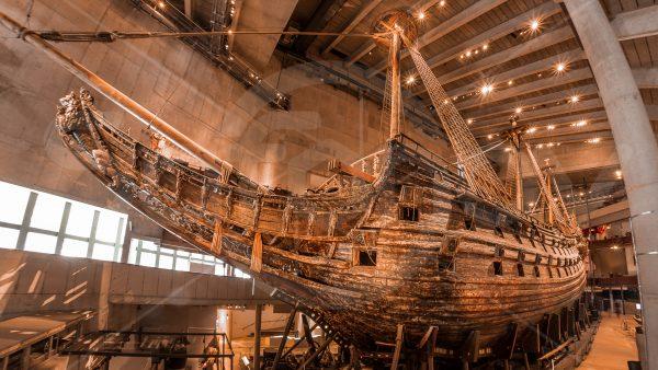 Музей Васа (Ваза) в Стокгольме