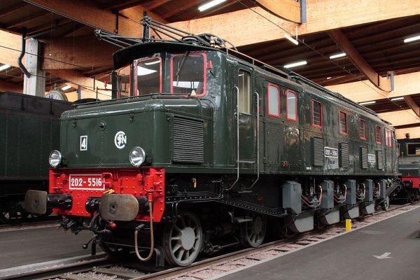 Экспонат Железнодорожного музея Любляны