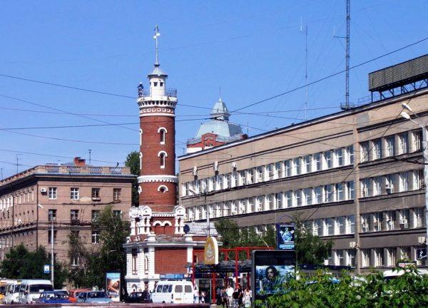 Пожарная каланча, Омск