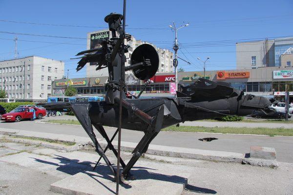Памятник Дон Кихоту, Омск