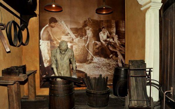 В музее рома