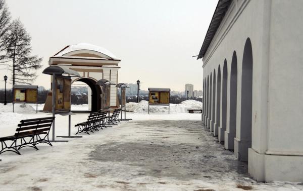 Омская крепость после реконструкции