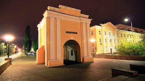 Тарские ворота, Омск