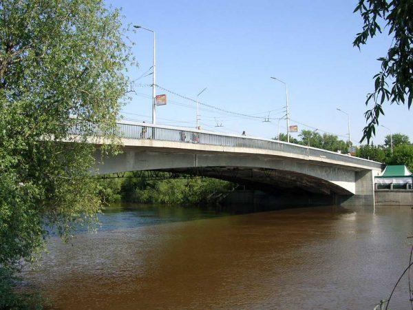 Юбилейный мост, Омск