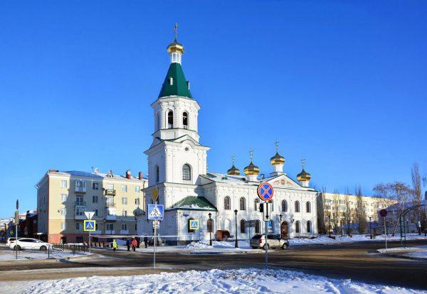 Воскресенский военный собор, Омск