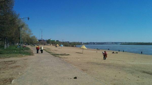 Пляж Советский Омск
