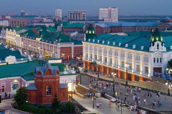Вид на Омск