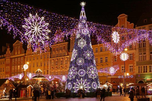 Рождественская ёлка Вроцлава