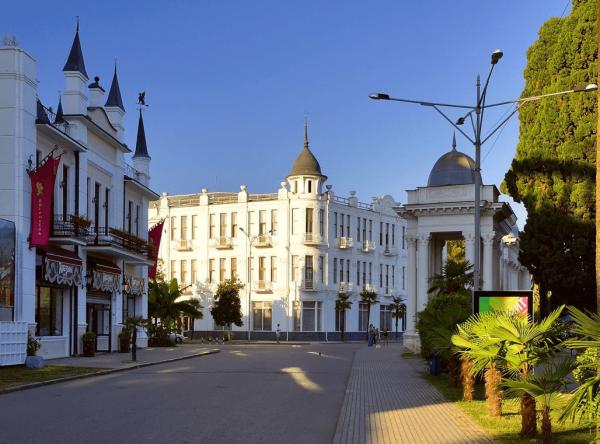 Набережная Махаджиров, Сухум