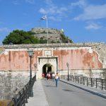 Ворота крепости в Керкире