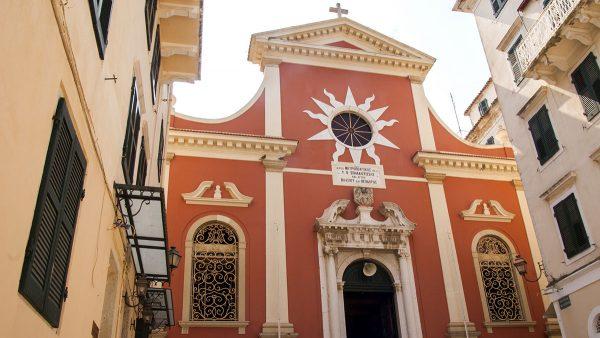 Церковь Панайия Спилиотисса в Керкире