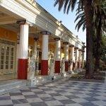 Колоннада дворца Ахиллеон