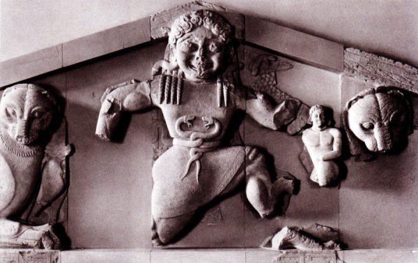 Экспонат археологического музея Керкиры