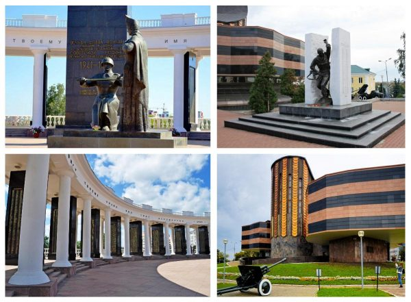 Мемориал воинам Мордовии