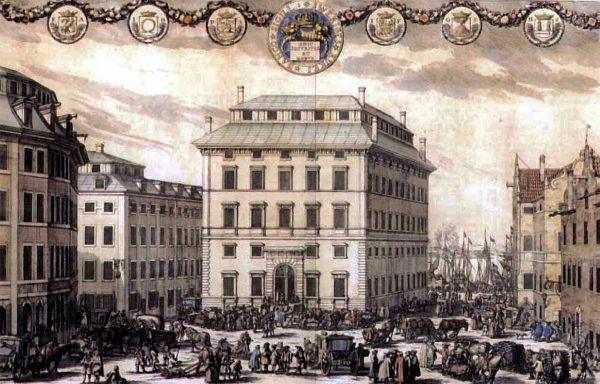 Стокгольм в середине XVII века