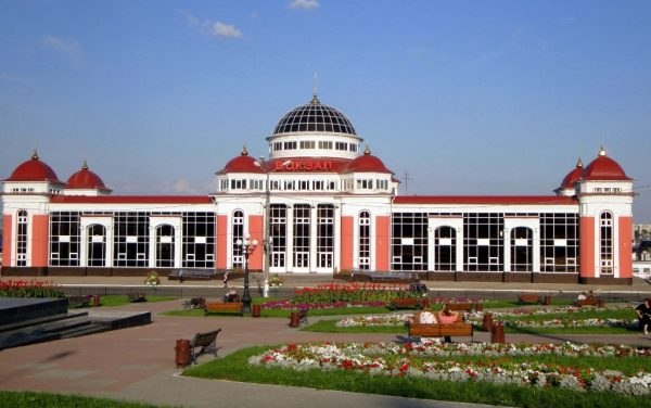 Железнодорожный вокзал Саранска