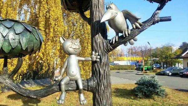 Памятник Котёнку с улицу Лизюкова, Воронеж
