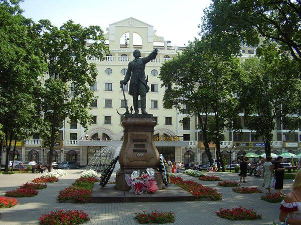 Памятник Петру I, Воронеж
